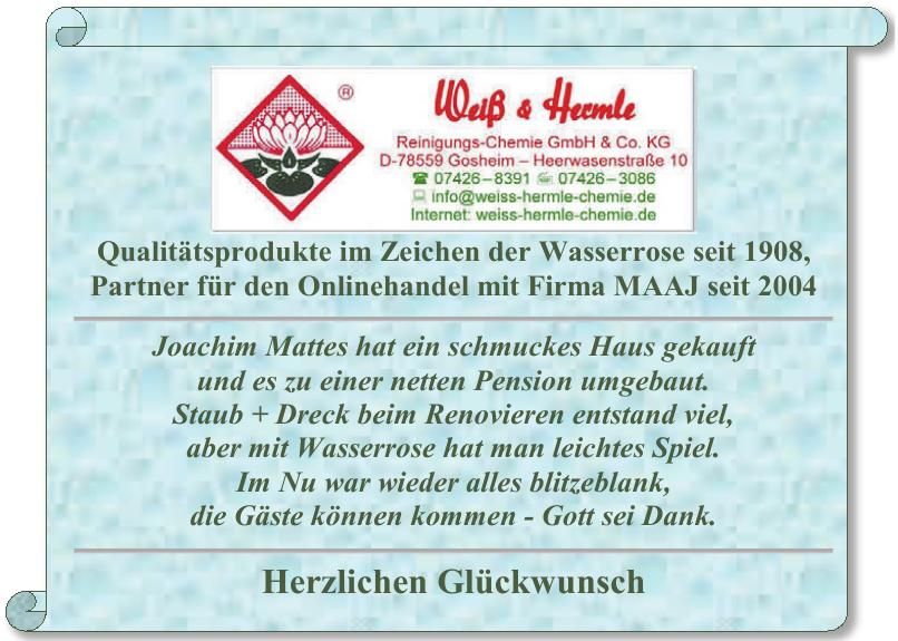 Weiß & Hermle Reinigungs Chemie GmbH & Co. KG