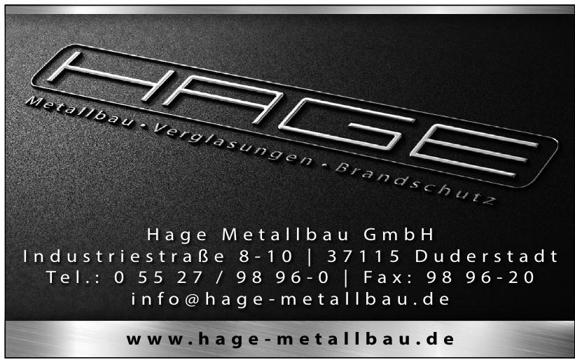 Hage Metallbau GmbH