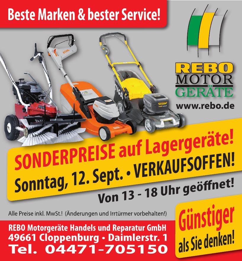 REBO Motorgeräte Handels und Reparatur GmbH