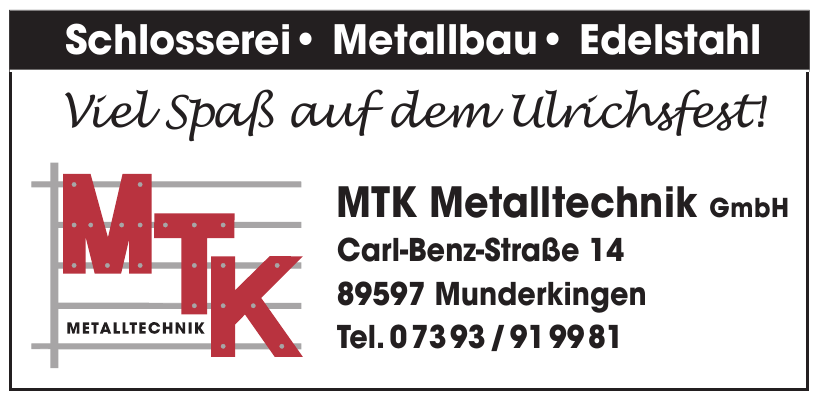 MTK Metalltechnik GmbH