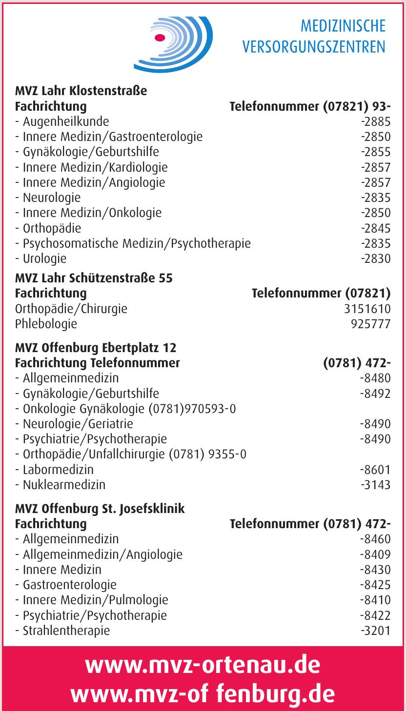 Medizinische Versorgungszentren