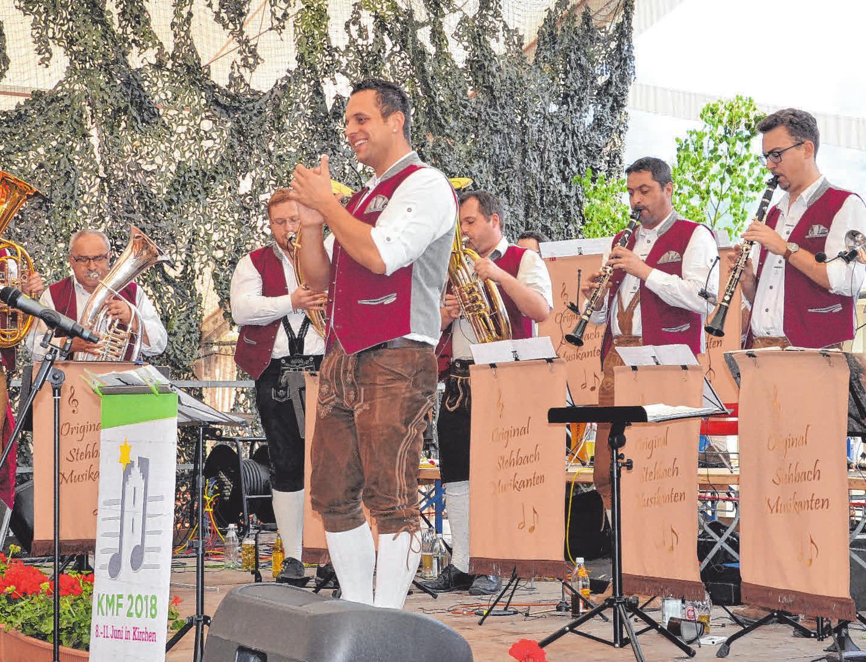 Die Stehbachmusikanten (rechts). FOTOS: PR