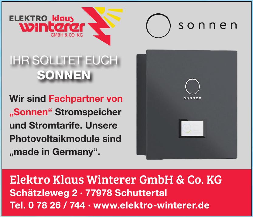 Elektro Klaus Winterer GmbH & Co. KG