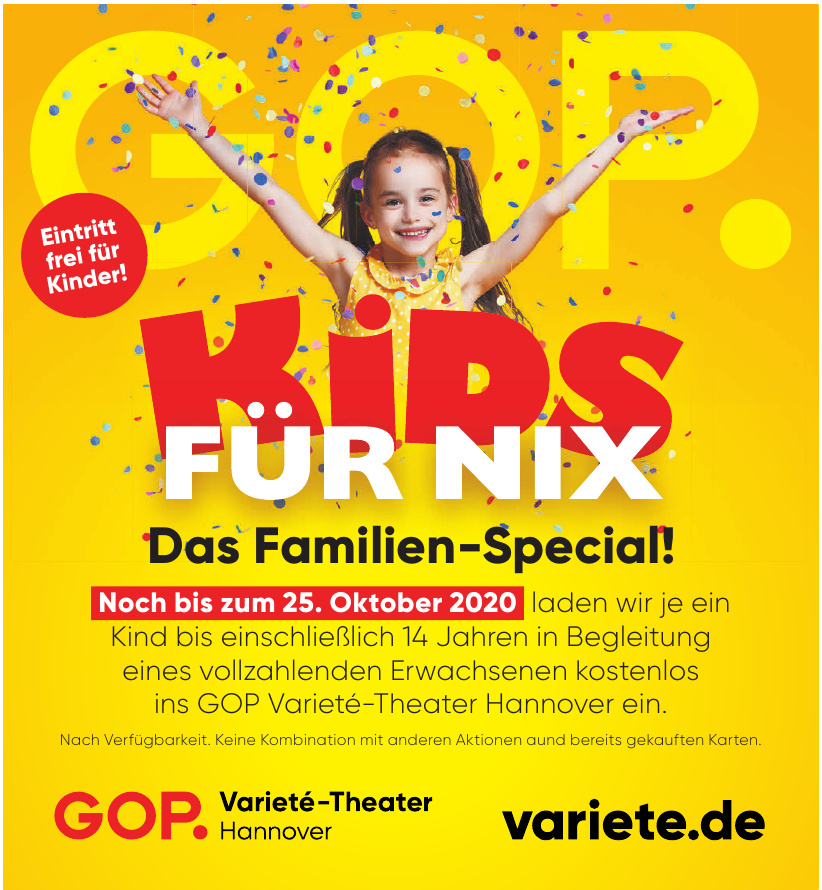 GOP Varieté-Theater Hannover