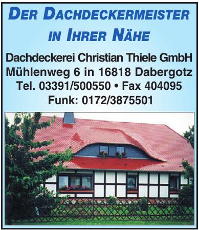 Dachdeckerei Christian Thiele GmbH