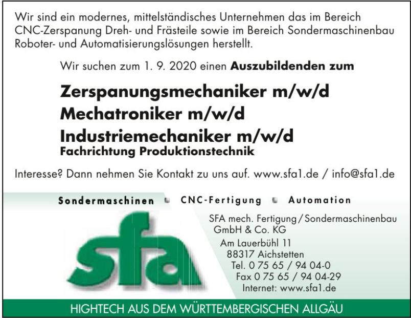 SFA GmbH & Co KG