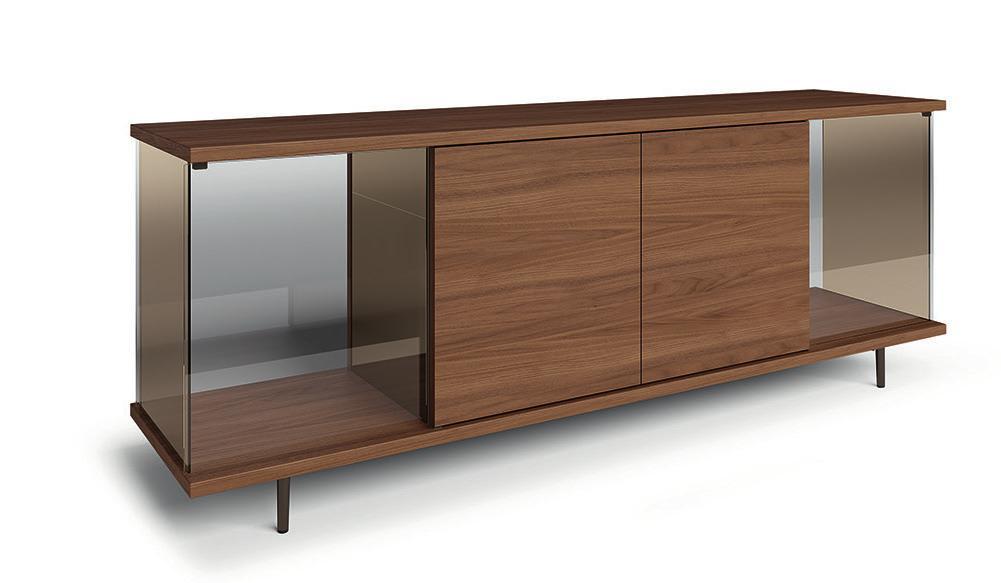 Das Sideboard «The Ferns» ist eine Verneigung vor dem Bauhaus-Designer Ludwig Mies van der Rohe.