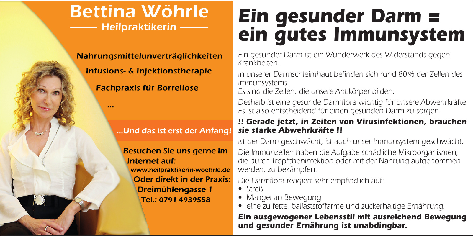 Bettina Wöhrle Heilpraktikerin