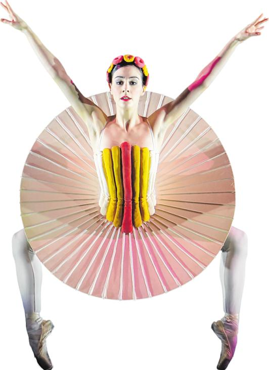 """Oskar Schlemmers """"Triadisches Ballett"""" ist in einer Rekonstruktion zu erleben. WILFRIED HÖSL"""