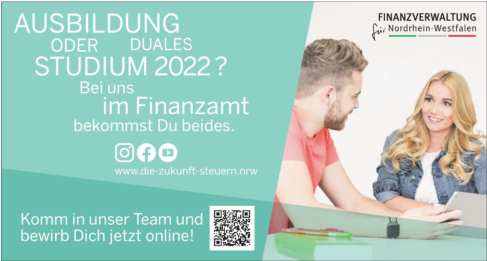 Finanzverwaltung Nordrhein-Westfalen