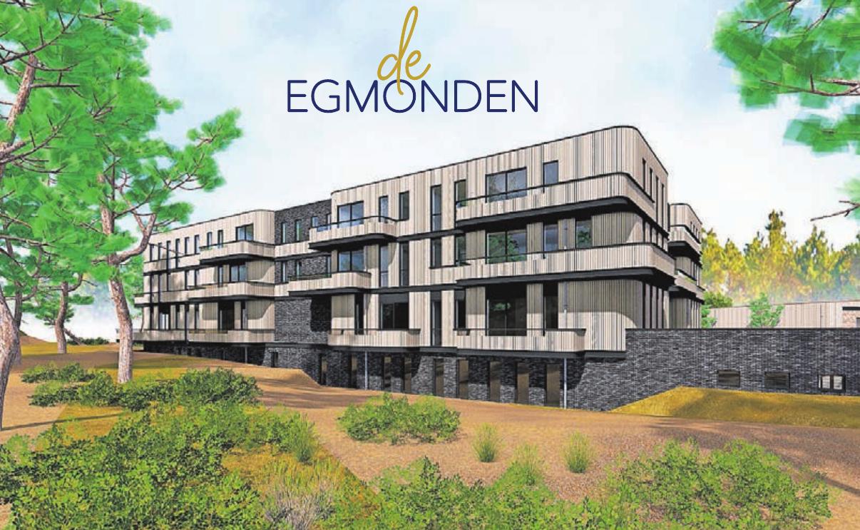 """Dieser Entwurf zeigt, wie die Apartmentanlage """"De Egmonden"""" einmal aussehen wird."""