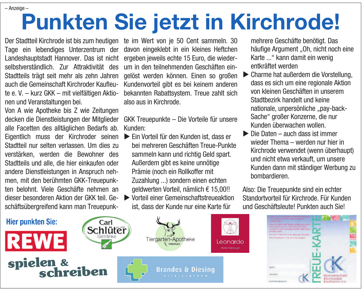 Treupunkte Kirchrode