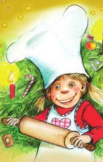"""""""Die Weihnachtsbäckerei"""" in Schmidts TIVOLI. Zeichnung: Julia Ginsbach"""