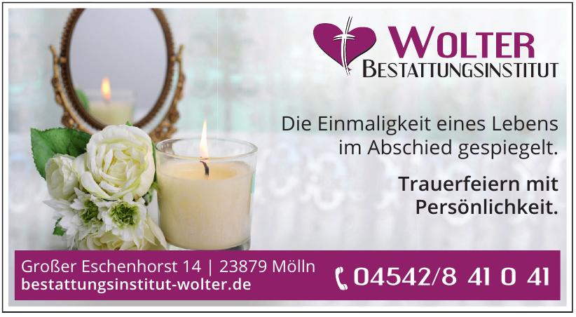 Bestattungsinstitut Wolter Inh. Burkhard Wolter e. K.