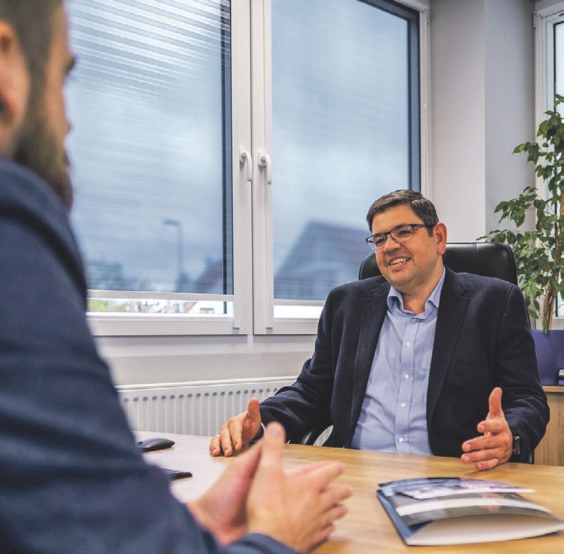 Geschäftsführer Markus Rehkugler kennt den Immobilienmarkt in der Region seit über 20 Jahren. Foto: Helga-Agentur