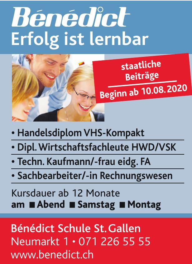 Bénédict Schule St.Gallen