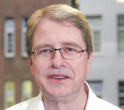 Prof. Thomas Jahnke Leiter der Radiologischen Klinik Foto: Geschäftsfotos