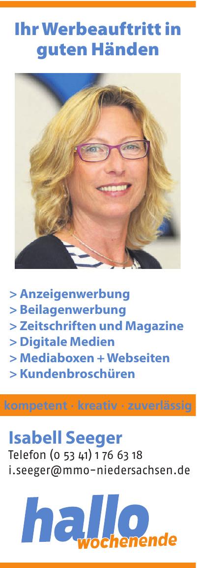 Hallo Wochenende - Isabell Seeger