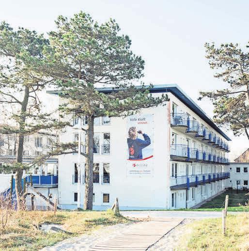 Das Schulgebäude von ecolea in Warnemünde. Fotos: ecolea
