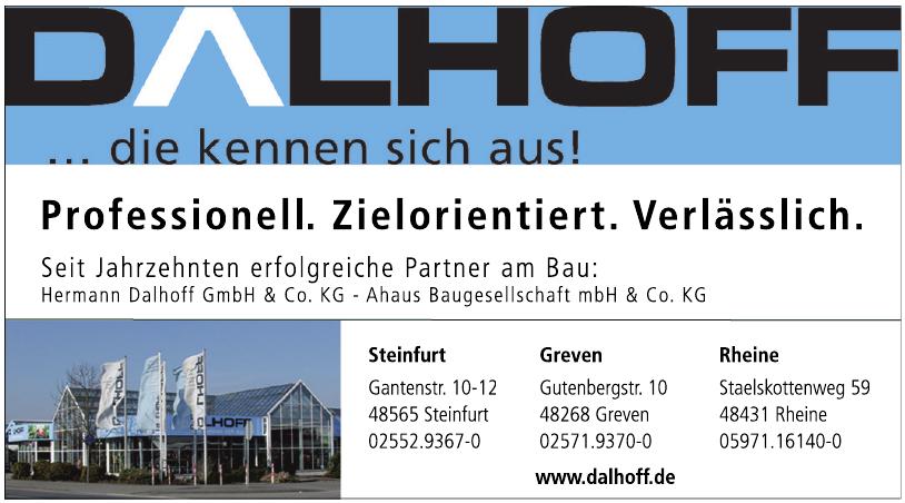 Hermann Dalhoff GmbH & Co. KG - Ahaus Baugesellschaft mbH & Co. KG