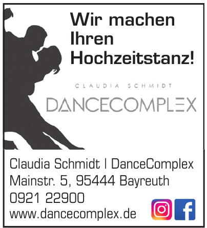Claudia Schmidt - DanceComplex
