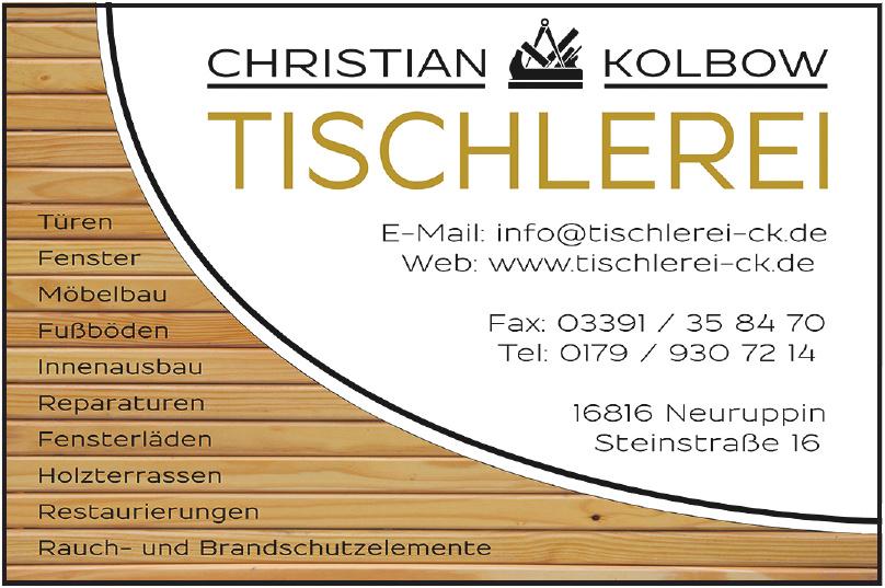 Christian Kolbow Tischlerei