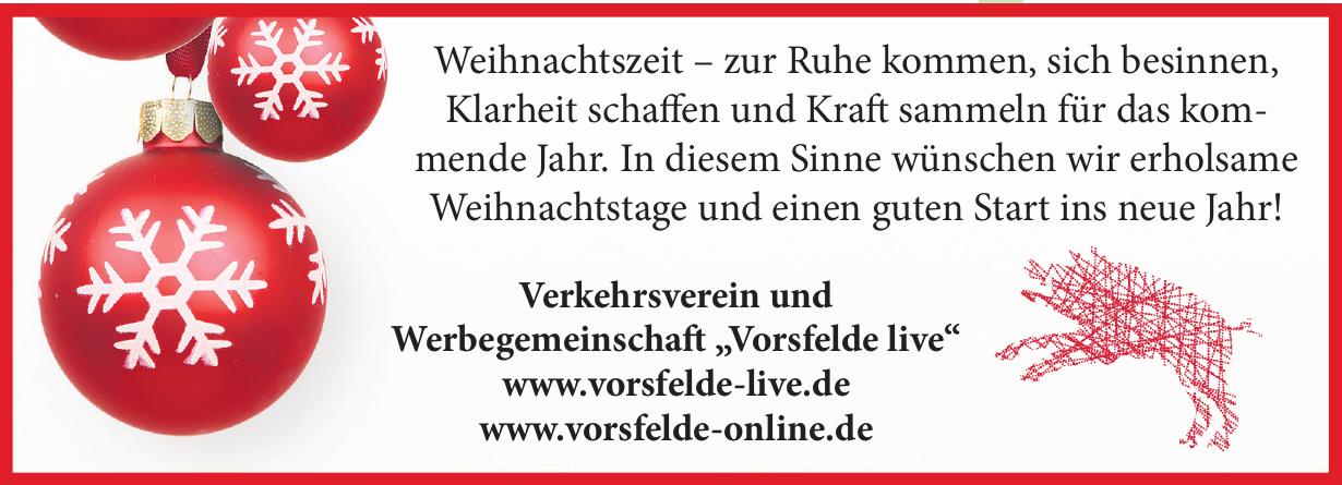 """Verkehrsverein und Werbegemeinschaft """"Vorsfelde live"""""""