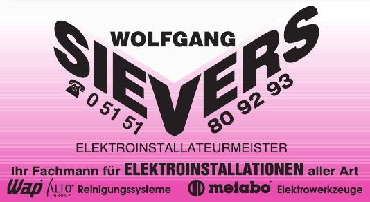 Wolfgang Sievers