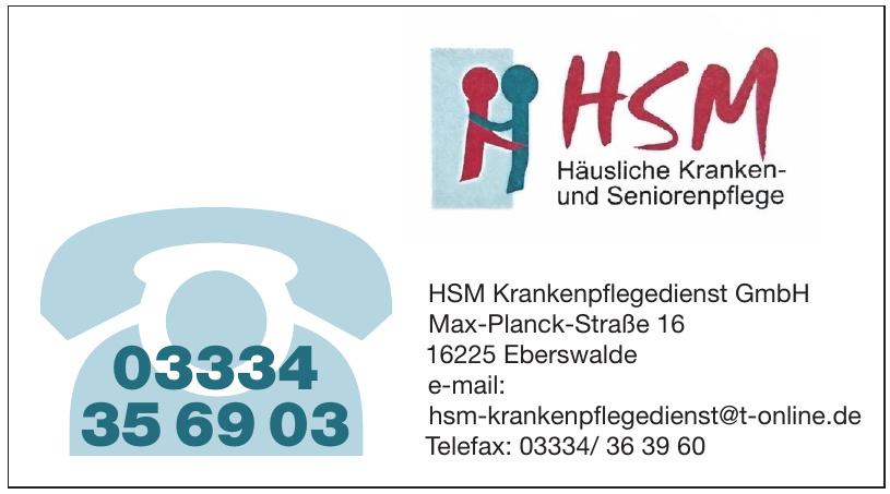 HSM Krankenpflegedienst GmbH