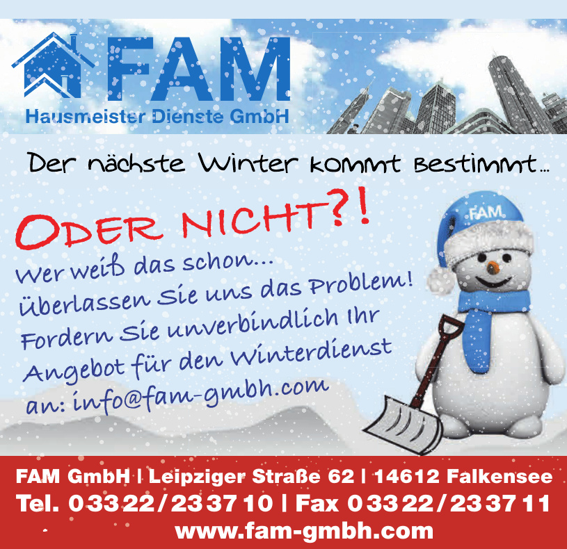 FAM Hausmeister Dienste GmbH