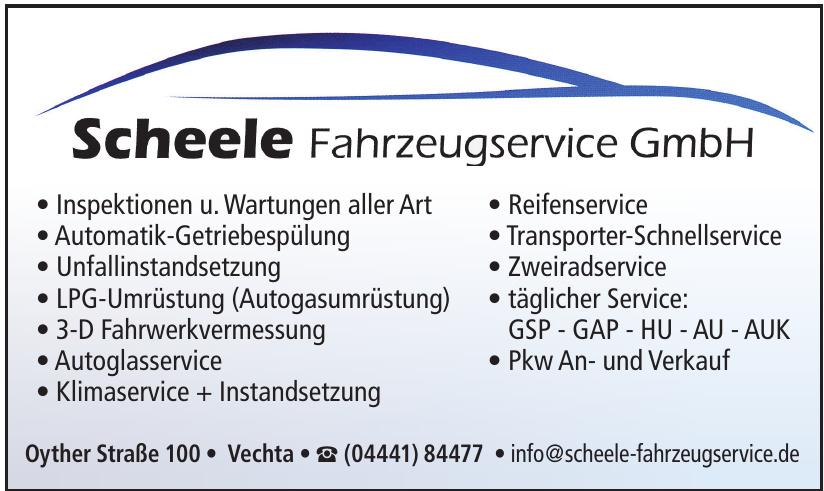 Scheele Fahrzeugservice GmbH