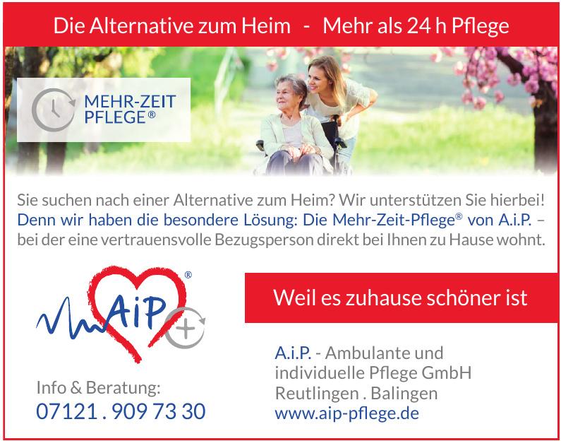 A.i.P. Ambulante und individuelle Pflege GmbH