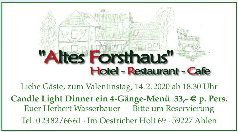 Hotel-Restaurant-Cafe Altes Forsthaus
