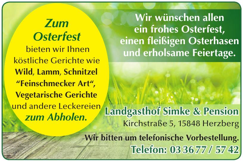 Landgasthof Simke & Pension
