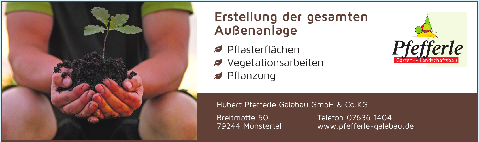 Hubert Pfefferle Galabau GmbH & Co.KG
