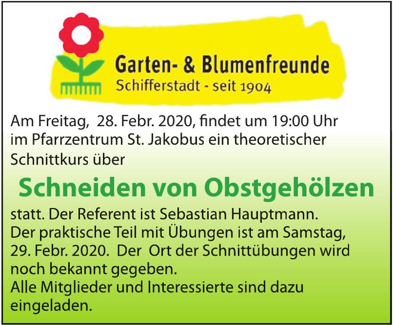 Garten- & Blumenfreunde Schifferstadt