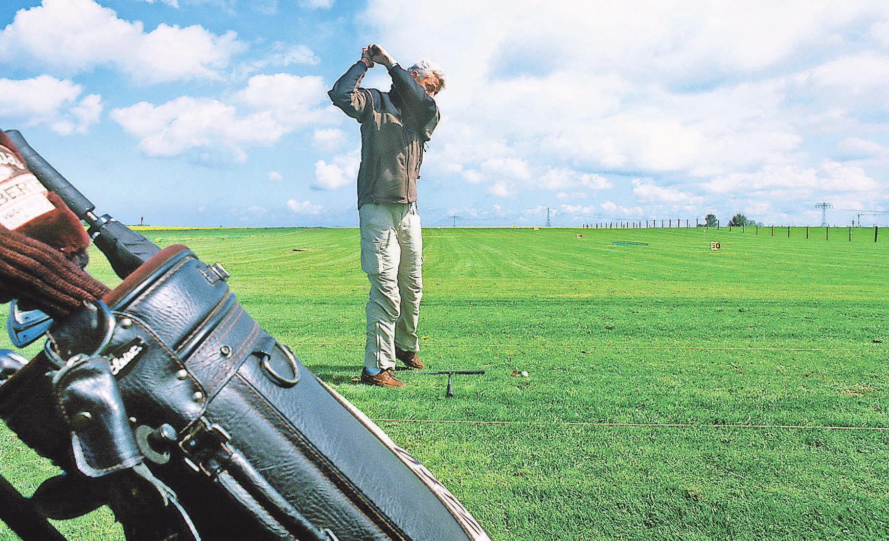 Golf spielen auf Fischland Darß. Foto: Tourismusverband