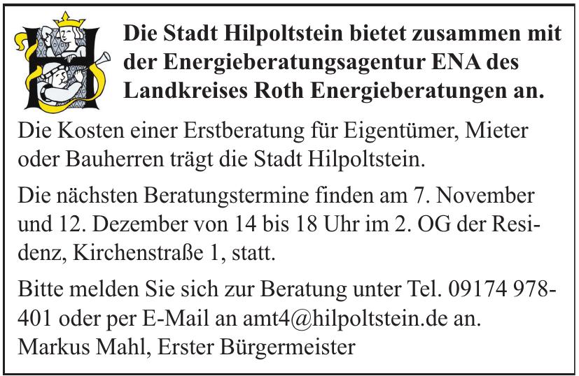 Die Stadt Hilpoltstein