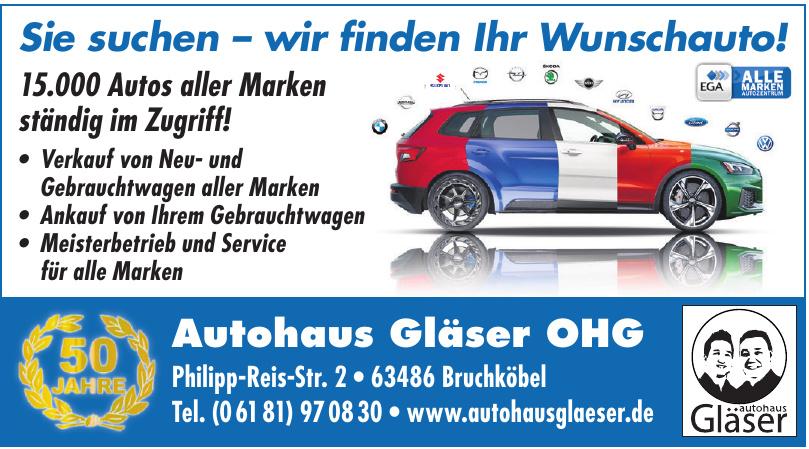 Autohaus Gläser OHG