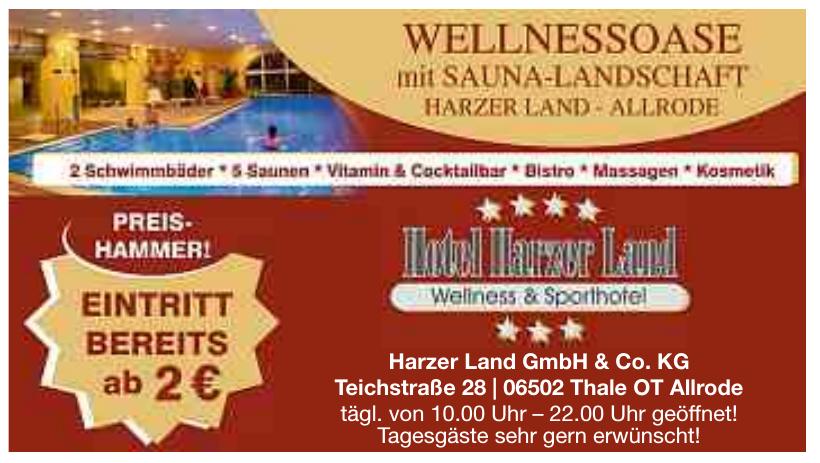 Hotel Harzer Land GmbH & Co. KG