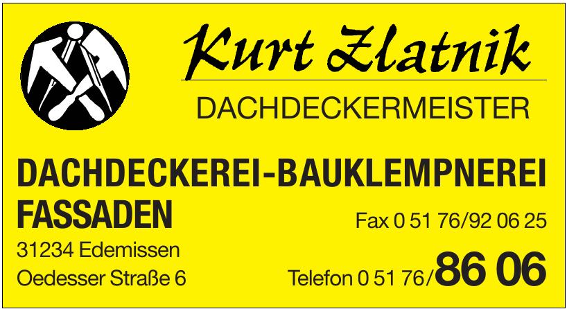 Kurt Zlatnik Dachdeckermeister