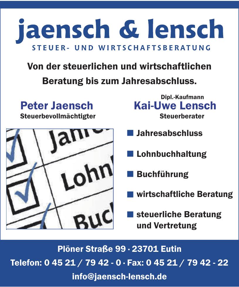 Jaensch & Lensch