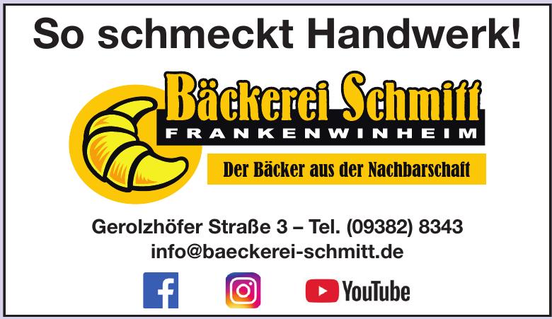 Bäckerei Schmitt Frankenwinheim