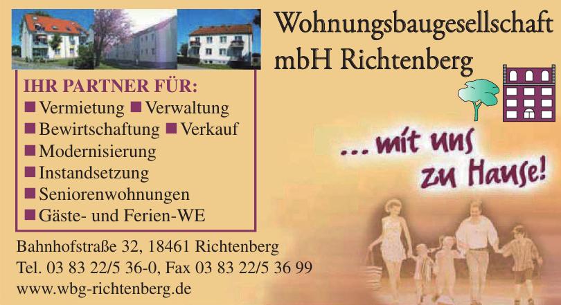 Wohnungsbaugesellschaft mbH Richtenberg