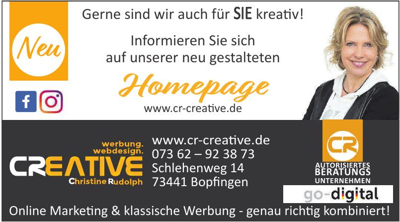 Werbung Webdesign Creative Christiane Rudolph