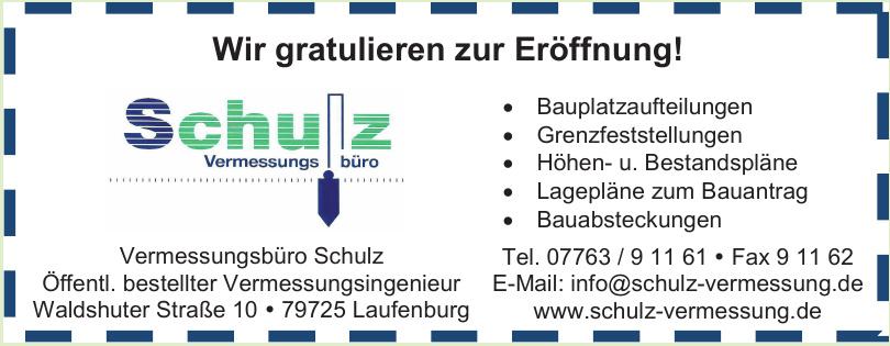 Vermessungsbüro Schulz GbR