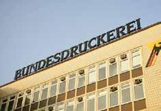 """Das Hightech-Unternehmen """"Bundesdruckerei"""" hat seinen Sitz an der Grenze von Kreuzberg zu Mitte. FOTO: WOLFRAM STEINBERG / PA"""