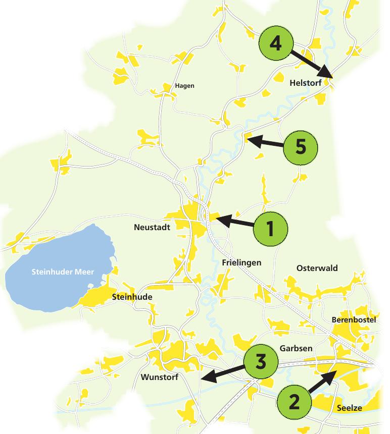 Die Adressen dieser Autohäuser und Werkstätten im Nordwesten der Region Hannover finden Sie auf dieser Seite.