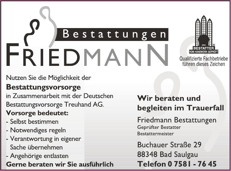Friedmann Bestattungen