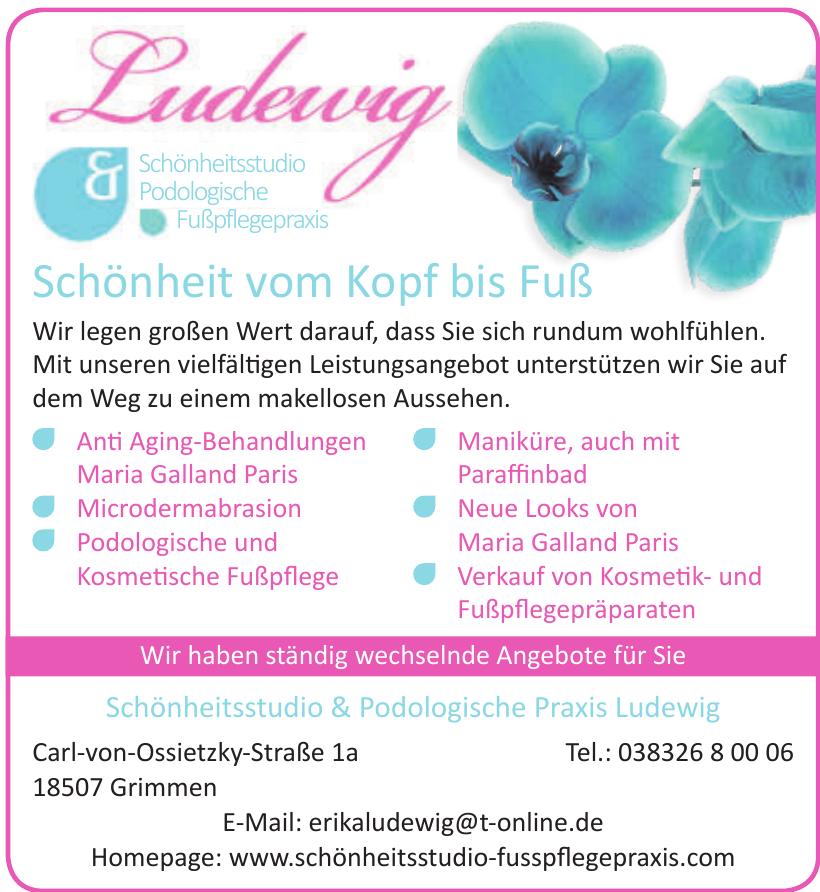 Schönheitsstudio & Podologische Praxis Ludewig